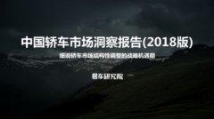 易车研究院发布《中国轿车市场洞